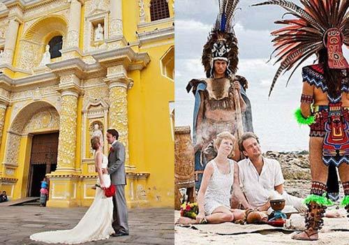 Ảnh cưới tại 22 nước của cặp đôi Anh - 15