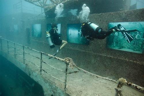 Kinh ngạc triển lãm dưới nước - 10