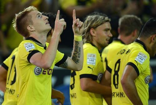 Dortmund - Bremen: Reus ghi bàn - 1