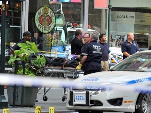 Mỹ: Lại xả súng ở New York - 1