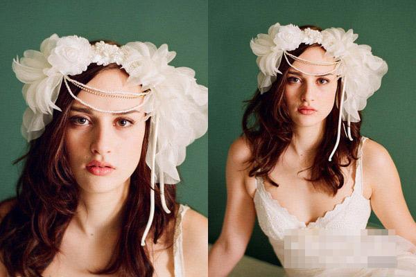 Phụ kiện tóc cho cô dâu dáng vẻ yêu kiều - 1