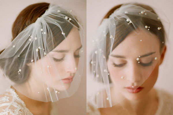 Phụ kiện tóc cho cô dâu dáng vẻ yêu kiều - 9