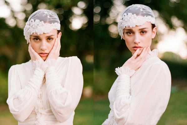 Phụ kiện tóc cho cô dâu dáng vẻ yêu kiều - 10