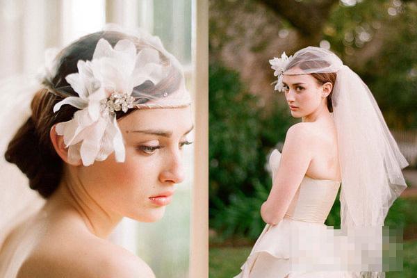 Phụ kiện tóc cho cô dâu dáng vẻ yêu kiều - 11