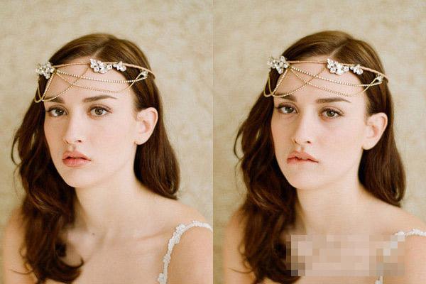 Phụ kiện tóc cho cô dâu dáng vẻ yêu kiều - 2