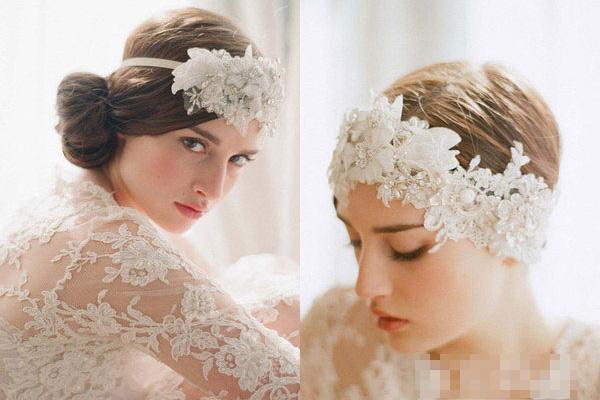 Phụ kiện tóc cho cô dâu dáng vẻ yêu kiều - 4