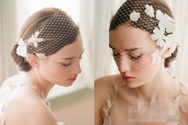 Phụ kiện tóc cho cô dâu dáng vẻ yêu kiều - 6