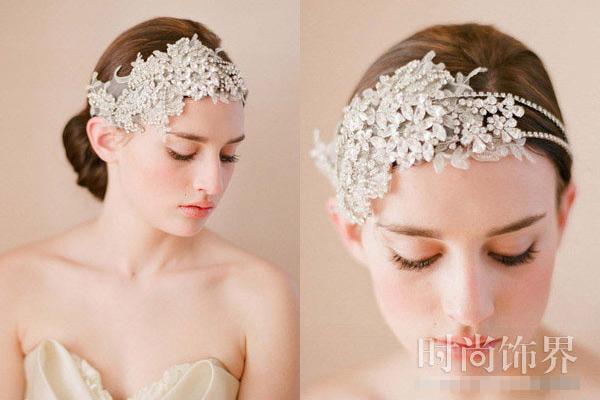 Phụ kiện tóc cho cô dâu dáng vẻ yêu kiều - 7