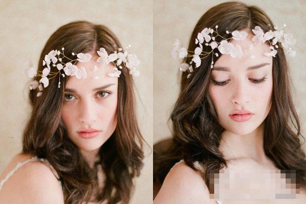 Phụ kiện tóc cho cô dâu dáng vẻ yêu kiều - 8