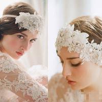 Phụ kiện tóc cho cô dâu dáng vẻ yêu kiều