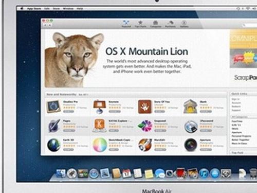 Đã có bản cập nhật đầu tiên của OS X Mountain Lion - 1