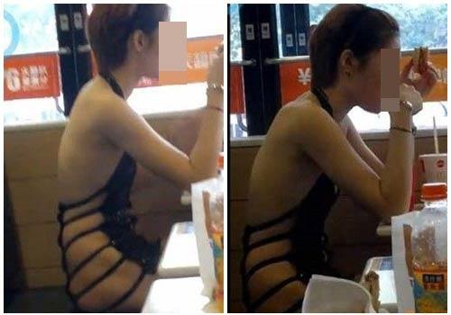 Cô gái ăn mặc kỳ lạ trên phố - 2