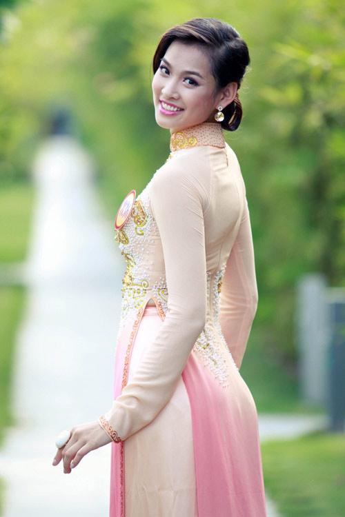 Vương Thu Phương bị đình chỉ thi hoa hậu - 1
