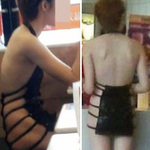 Phi thường - kỳ quặc - Cô gái ăn mặc kỳ lạ trên phố