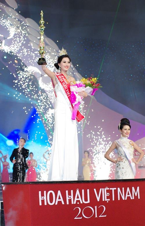 Đặng Thu Thảo trở thành Hoa hậu Việt Nam - 2