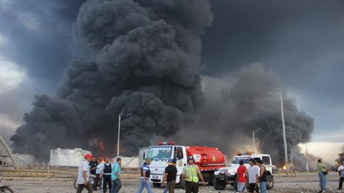 Nổ nhà máy ở Venezuela: 100 người thương vong - 8