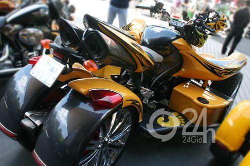 """Cận cảnh dàn xe mô tô """"khủng"""" tại Sài Gòn - 2"""