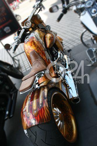 """Cận cảnh dàn xe mô tô """"khủng"""" tại Sài Gòn - 9"""