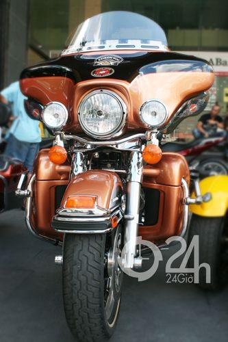"""Cận cảnh dàn xe mô tô """"khủng"""" tại Sài Gòn - 11"""