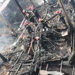 Tin tức trong ngày - Chùm ảnh tan hoang ở khu tập thể cháy rụi