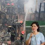 Tin tức trong ngày - Nhà cháy rồi, không biết đi đâu!