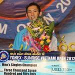 Thể thao - Tiến Minh bảo vệ thành công chức VĐ giải Việt Nam mở rộng