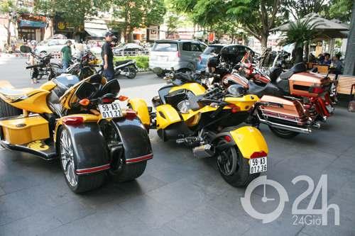 """Cận cảnh dàn xe mô tô """"khủng"""" tại Sài Gòn - 15"""