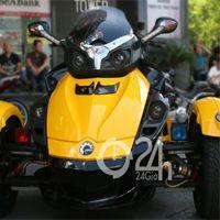 """Cận cảnh dàn xe mô tô """"khủng"""" tại Sài Gòn"""
