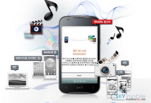 Mẫu điện thoại Sky Hàn Quốc đình đám tại VN! - 4