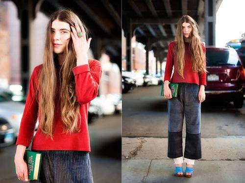 Vẻ đẹp lãng mạn của stylist tóc dài - 1