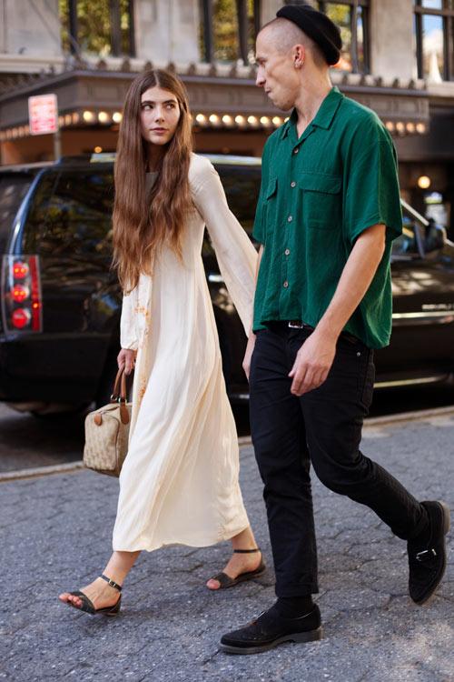 Vẻ đẹp lãng mạn của stylist tóc dài - 2