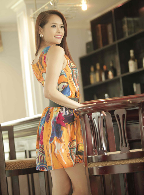 Hương Thảo dự thi Hoa hậu siêu quốc gia - 6