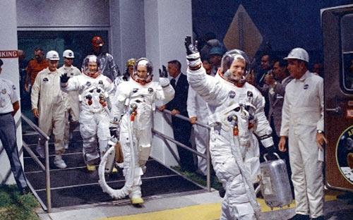 Chùm ảnh về người đầu tiên lên Mặt Trăng - 9