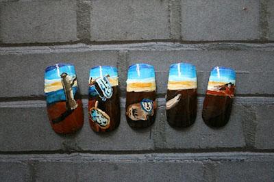 15 mẫu thiết kế móng tay ấn tượng - 9