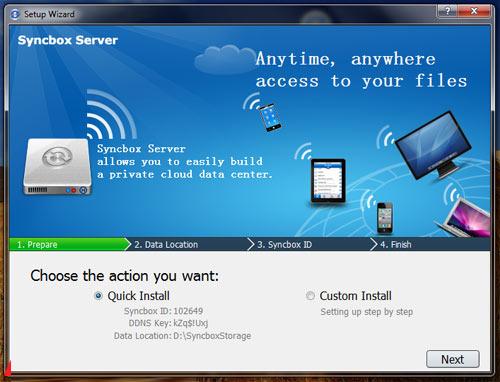 Mẹo tự tạo ổ đĩa trực tuyến bằng Syncbox - 2