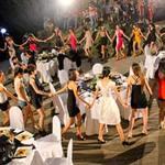 Người mẫu - Hoa hậu - Thí sinh nhảy tưng bừng với nhạc sàn