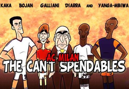 Biếm họa: Milan và biệt đội đánh thuê - 1