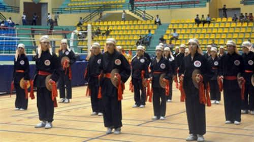 30 đoàn dự Giải VĐ võ thuật cổ truyền VN lần thứ 22 - 1