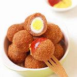 Ẩm thực - Cá ngừ bọc trứng cút chiên giòn rụm