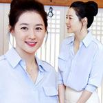 Phim - Lee Young Ae xinh đẹp đi từ thiện