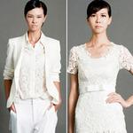 Thời trang - Trắng tinh khôi với thí sinh Top Model