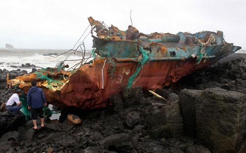 Chùm ảnh bão Bolaven tàn phá Hàn Quốc - 5