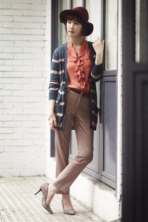 Lee Da Hee lãng mạn trong chiều thu - 1