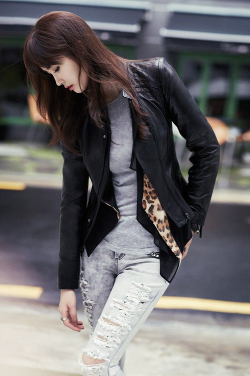 Lee Da Hee lãng mạn trong chiều thu - 9