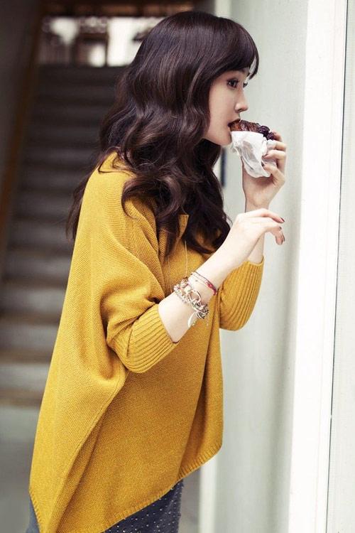 Lee Da Hee lãng mạn trong chiều thu, Thời trang, Lee Da Hee, Lee Da Hee xinh dep, Lee Da Hee thoi trang, vay, thoi trang thu, ao khoac, mu, quan au, ao so mi, thoi trang mua thu 2012