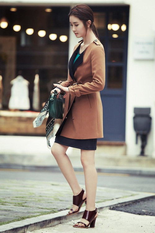 Lee Da Hee lãng mạn trong chiều thu - 3