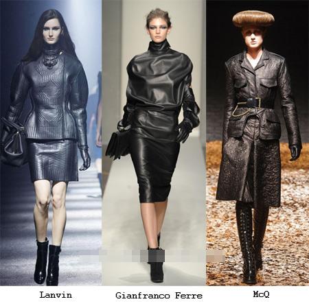 Thu đông 2012 mặc đồ da đẹp như sao Âu-Á - 12