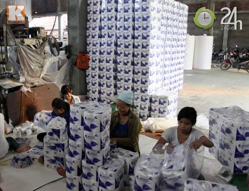 Rùng mình công nghệ sản xuất giấy ăn - 12