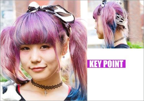 Tóc thiếu nữ Nhật từ dịu hiền đến sốc - 3