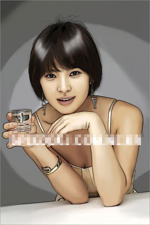 Tranh đẹp hút hồn của Song Hye Kyo, Phim,